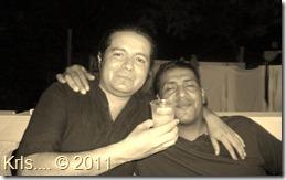 Con mi pana Edu