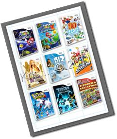 Catalogo Wii games