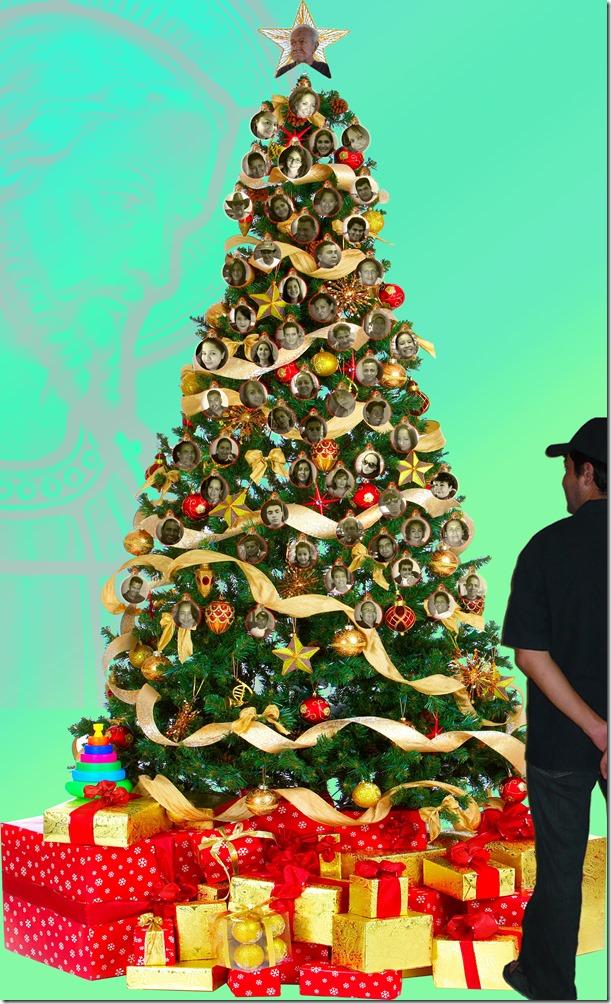 Feliz Navidad a mis familiares y amigos